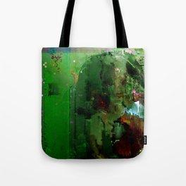 glitch cloud 2. Tote Bag