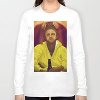 jesse pinkman Long Sleeve T-shirts featuring Jesse Pinkman  by Inspired Engine