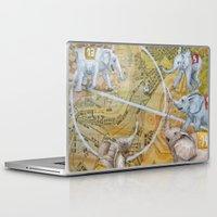 football Laptop & iPad Skins featuring Football by Ruta13