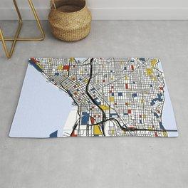 Seattle Mondrian Rug
