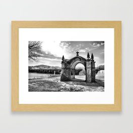 The Guardian Angel Chapel in ponte de Lima Framed Art Print