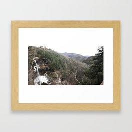 Kaaterskill Falls Framed Art Print