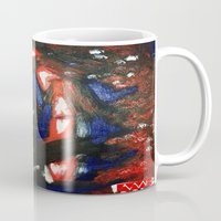 rave Mugs featuring Rave by Myles Hunt