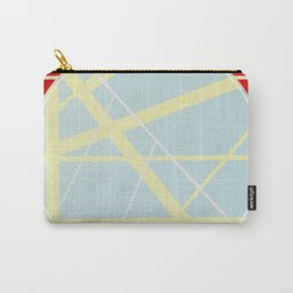 Crossroads ll - red graphic Carry-All Pouch
