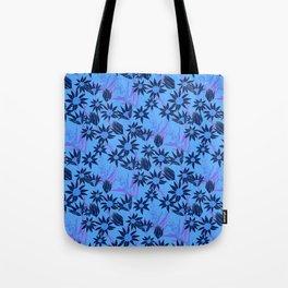 Flannel Flower Fields Tote Bag
