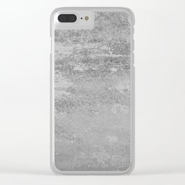 Simply Concrete Clear iPhone Case