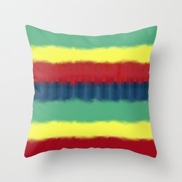 Tie Graphic Throw Pillow