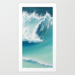 Musical Thunder Art Print