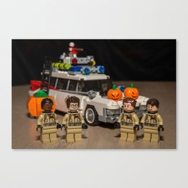 Halloween Busters Canvas Print