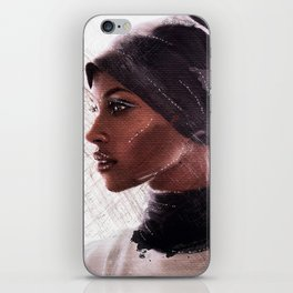 Jasmine Warsame iPhone Skin