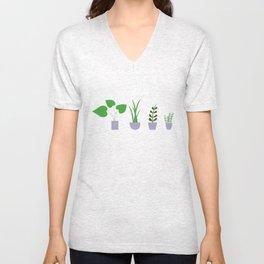 Plant Life Unisex V-Neck