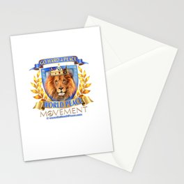 Go Hard 4 Peace, Love & Unity Stationery Cards