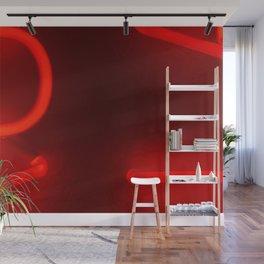 Neon Universal Language Wall Mural