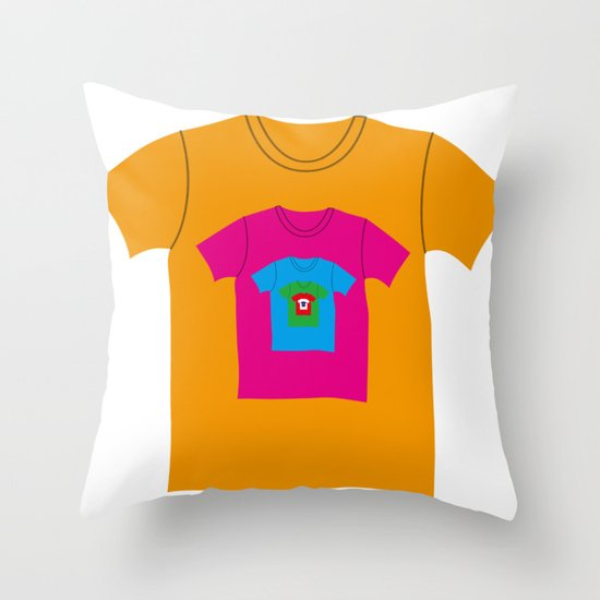 Infinite T-shirt Throw Pillow