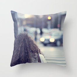 Let me here Throw Pillow