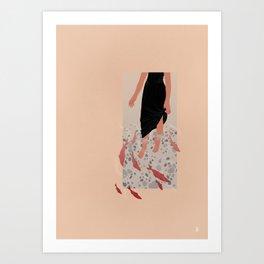 River Moment Art Print