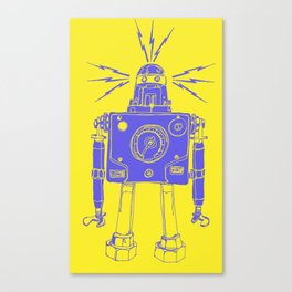 Mr Roboto Canvas Print