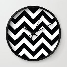 Chevron pattern II Wall Clock