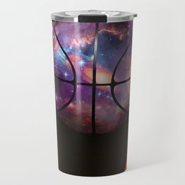 Basketball Galaxy Travel Mug