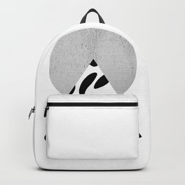 Mountain And Sun Collage Backpack