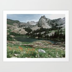 Lake Blanche Art Print