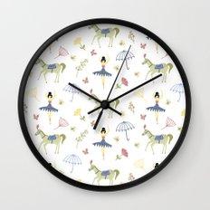 circus ballet Wall Clock