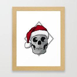 joyeux noël Framed Art Print