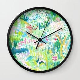 Springtime Wall Clock