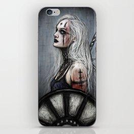Gothic Shieldmaiden iPhone Skin