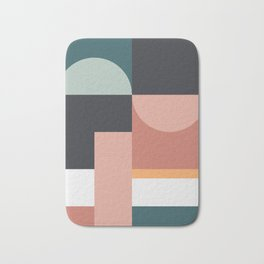 Abstract Geometric 07 Bath Mat