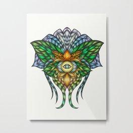 Visionary art - Luna Moth Metal Print