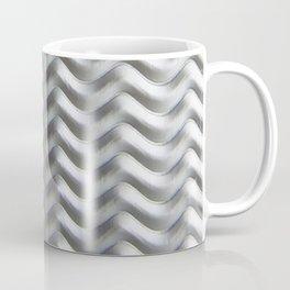 Metal Wave Silver Coffee Mug