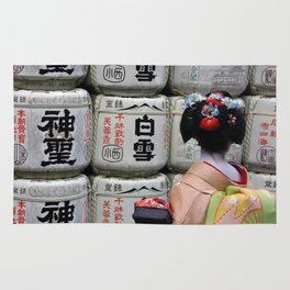 Geisha Maiko III Rug