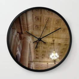 Grand théâtre de Bordeaux 3- inside the opera house Wall Clock
