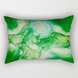 The Green Cross Rectangular Pillow