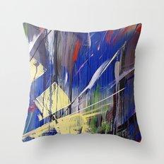 SLASHBURN Throw Pillow