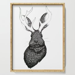 The Jackalope Serving Tray