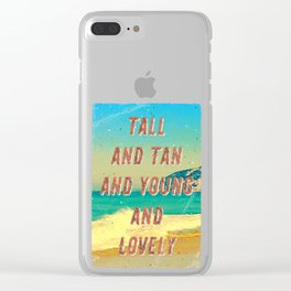 Girl from Ipanema #1 - A Hell Songbook Edition Clear iPhone Case