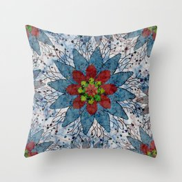 Marble Quilt Throw Pillow