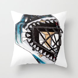 Heyward - Mask Throw Pillow