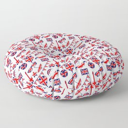 London Union Jack British Pattern Floor Pillow