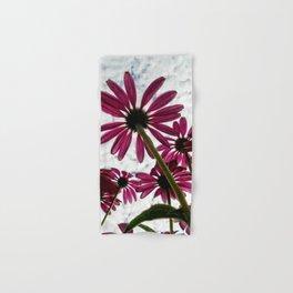 Pink Coneflower Daisy Hand & Bath Towel