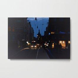 Amsterdam Nights Metal Print