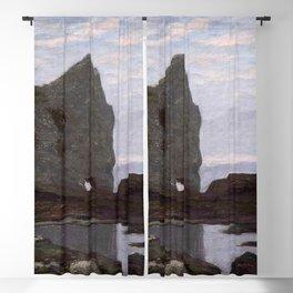 Claude Monet - Étretat Blackout Curtain