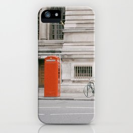 Phone Booth iPhone Case