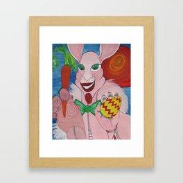 The Easter Bunny Framed Art Print