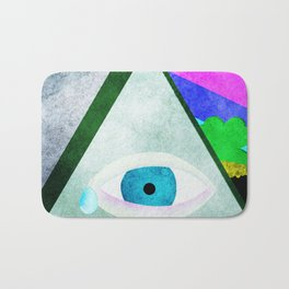 All Seeing Eye Bath Mat