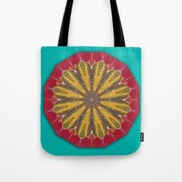 Colors of Rust / mandala-style-rust Tote Bag