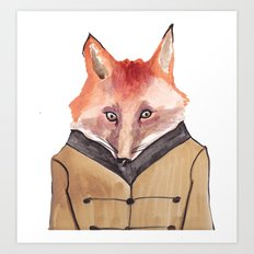 Brer Fox Art Print