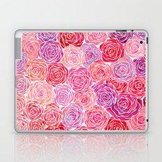 Watercolour Roses Laptop & iPad Skin